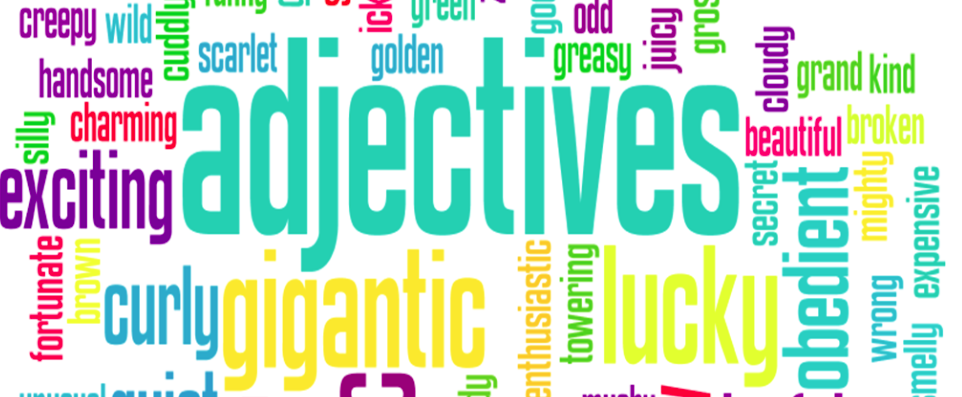What's the Correct Order for Multiple Adjectives?