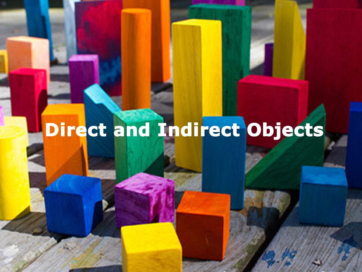 Verbs : Subject and Object