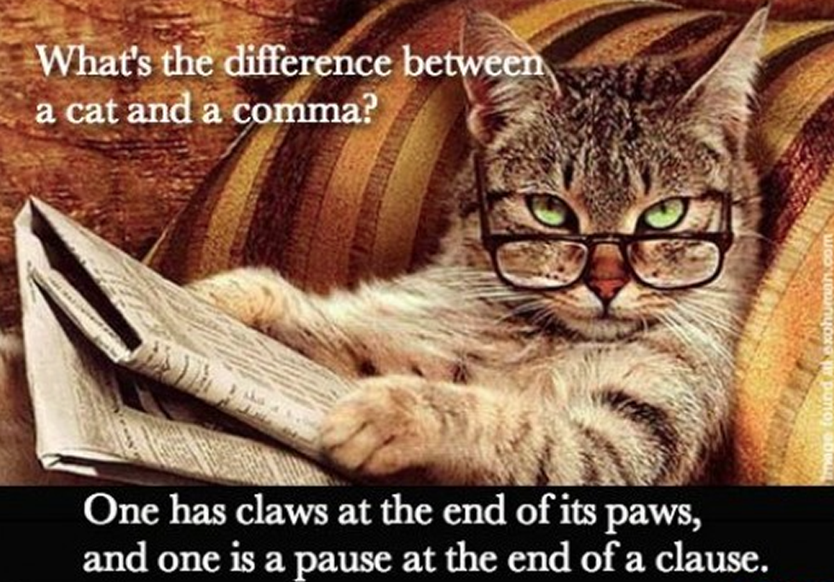 Commas : to separate clauses